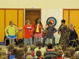 performance series takes artists to local schools and assisted