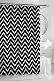 And Black Fabric For Curtains Black And White Fabric Shower Curtain Foter