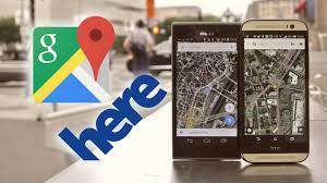 Google Maps Boston by Google Maps Vs Here Maps Quick Comparison Youtube