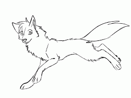 anime wolf pack coloring pages coloring