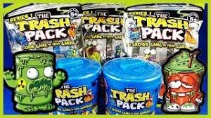 brand trash pack series 7 junk germs unboxing video feat