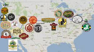 Road Trip Map Road Trip Hitting All The Breweries Community Beeradvocate