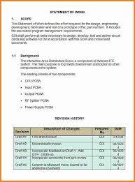 9 software development statement of work example sql print