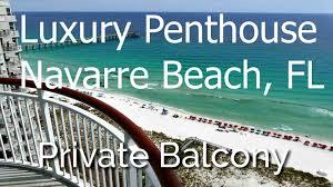 navarre beach colony luxury penthouse 3 bed 3 bath free