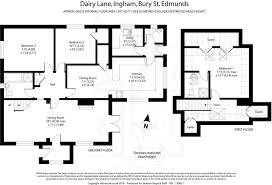 Chalet Bungalow Floor Plans Uk 3 Bedroom Bungalow For Sale In Dairy Lane Ingham Bury St Edmunds