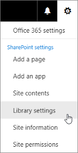 set a custom template for a sharepoint library office support