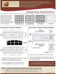 coach house accents simulated garage door window 2 windows per