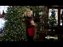 decorate a christmas tree adding lights youtube