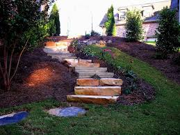 simple outdoor step idea front porch backyard building wood stair
