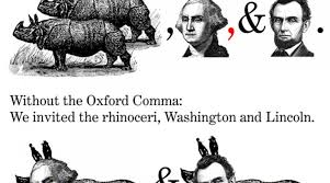 Oxford Comma Meme - oxford comma or dilemma the obu signal