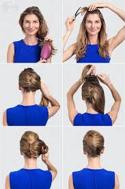 step by step womens hair cuts best 25 easy french twist ideas on pinterest french twist