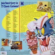 art tom u0026 jerry volume 1 laserdisc rare laserdiscs