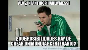 Memes De Lionel Messi - lionel messi pierde final de copa am礬rica y es blanco de burlas