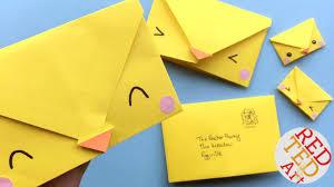How To Fold Envelope Origami Envelope Paper Crafts For Kids Red Ted Art U0027s Blog