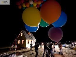 balloon house scene disney film u0027up u0027 ny daily