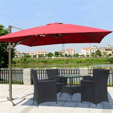 Red Rectangular Patio Umbrella Rectangular Patio Umbrella Rectangular Patio Umbrella Black