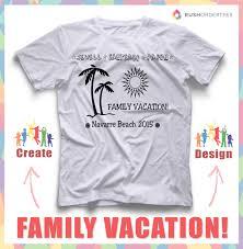 custom family vacation shirts by chattanoogatshirt on etsy