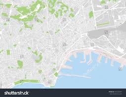 Map Of Naples Italy by Vector City Map Naples Italy Stock Vector 373222549 Shutterstock