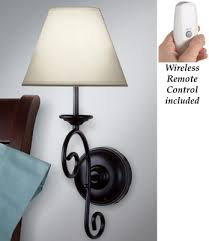 Vintage Wall Sconce Lighting Led Remote Control Vintage Wall Sconce Light From Collections Etc