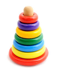 baby toy rings images Old toy pyramid with colored rings stock photo image of leisure jpg