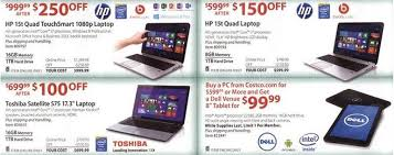black friday 2013 bj s costco sam s club deals on tablets