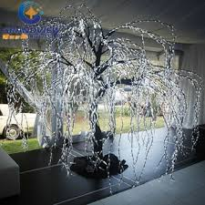 2015 outdoor artificial white lighted branch tree for hotel buy