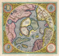 World Map Scotland by The Mysteries Of The First Ever Map Of The North Pole Atlas Obscura