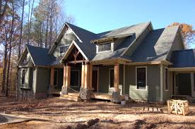 Craftman Homes Home Design Modern Craftsman House Exterior Eclectic Expansive