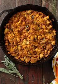 spicy chorizo cornbread dressing