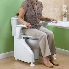 siege toilette pour handicapé siège de toilettes réhausseur wc et cadre de toilettes tous ergo
