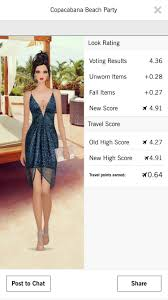 cover fashion game copacabana beach party score 4 5 covet