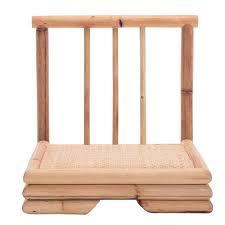 bamboo chair modern rattan bamboo chair japanese style tatami zaisu living room