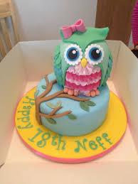 15 most amazing owl birthday cakes cakes cupcakes pops cookies