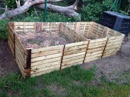 Garten Lounge Gunstig Komposter Gebaut Aus Terrassenlatten 50x50 Garten Pinterest