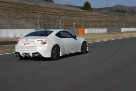 subaru brz rocket bunny v4 trd launches new performance line accessories for toyota 86 at