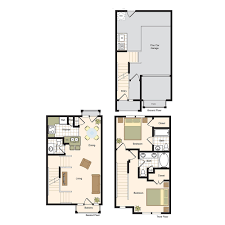 floor plans village on memorial luxury town home living in the