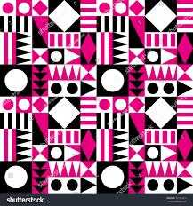 Mid Century Patterns Mid Century Modern Abstract Pattern Stock Vector 191343014