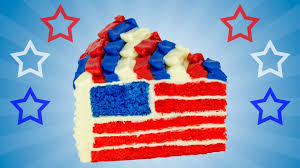 French And American Flags American Flag Cake For The 4th Of July Dessert By Cookies Cupcakes