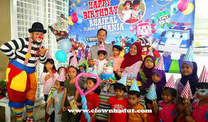 clown show for birthday party welcome to clown badut service in malaysia kl shah alam selangor