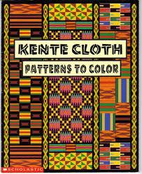 kente cloth patterns color kwaku ofori ansa 9780590880275