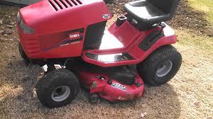 toro wheel horse tractor youtube