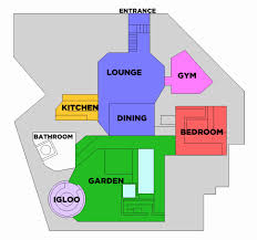 celebrity house floor plans floor plan of big brother house new cbb11 floorplan see were