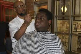 gentle haircuts berkeley fade to books two montclair barbers give free haircuts in exchange