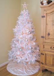 white christmas trees white christmas trees decorated chic black and whitepretty white