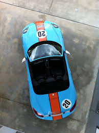 gulf racing new porsche boxter in gulf racing livery by jmilsom on deviantart