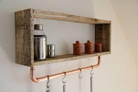 etagere murale pour cuisine etagere murale cuisine bois idées de décoration intérieure