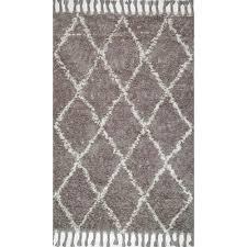 nuloom tuscan trellis grey 5 ft x 8 ft area rug mtvs147a 508