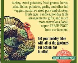 thanksgiving in chatham chatham county events