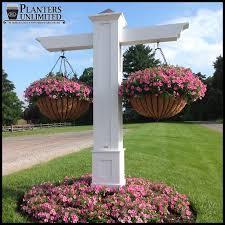 Hanging Flower Pot Hooks Commercial Hanging Baskets Large Flower Baskets Planters Unlimited