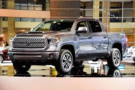 tundra truck chicago gets a look at the 2018 toyota tundra trd sport medium